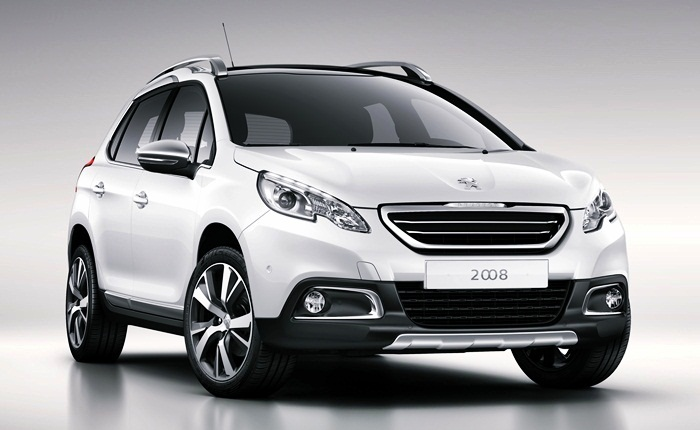 A Peugeot revelou nesta segunda-feira (7) as primeiras imagens do crossover compacto2008,modelo indito queestreia na Europa em maro, no Salo do Autom...